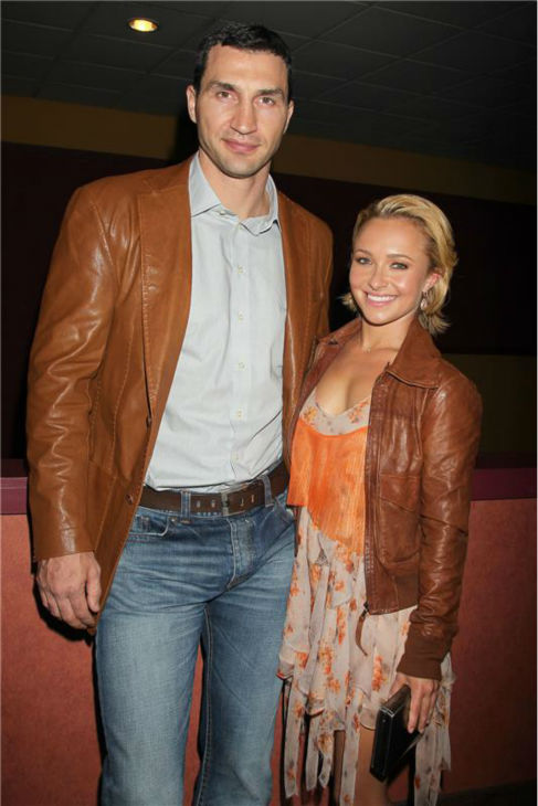 Hayden Panettiere and Wladimir Klitschko attend a screening of &#39;Hoodwinked Too&#39; at the Tribeca Film Festival in New York on April 23, 2011. <span class=meta>(Dave Allocca &#47; Startraksphoto.com)</span>