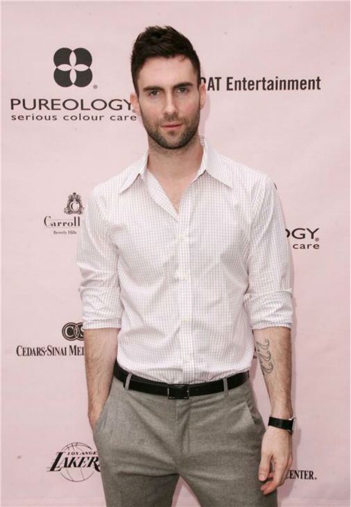 The &#39;One-Hand-In-My-Pocket&#39; stare: Adam Levine attends the Pamper Me Pink event, benefiting the Pediatric Inflammatory Bowel Disease Program, in Santa Monica, California on June 3, 2007. <span class=meta>(Andy Fossum &#47; Startraksphoto.com)</span>