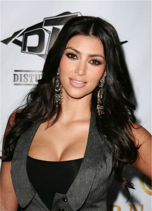 Kim Kardashian attends the Akademiks and Disturbing Tha Peace reception, hosted by Ludacris, in Hollywood, California on June 24, 2007. <span class=meta>(Andy Fossum &#47; Startraksphoto.com)</span>