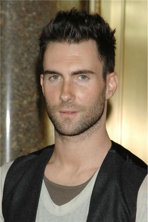 The &#39;Multi-Layered Look&#39; stare: Adam Levine attends the 2007 Fashion Rocks event at Radio City Music Hall in New York on Sept. 6, 2007. <span class=meta>(Nick Price &#47; Startraksphoto.com)</span>