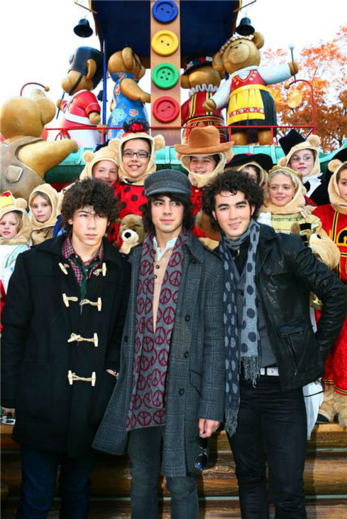 The time the Jonas Brothers took part in the 2007 Macy&#39;s Thanksgiving Day Parade in New York City on Nov. 22, 2007. <span class=meta>(Sara Jaye Weiss &#47; Startraksphoto.com)</span>
