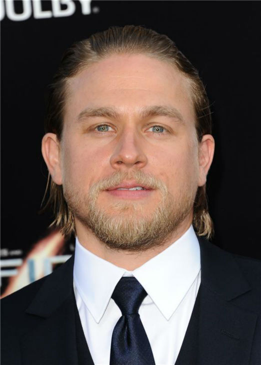 Charlie Hunnam attends the premiere of 'Pacific Rim' in Los Angeles on July 9, 2013.