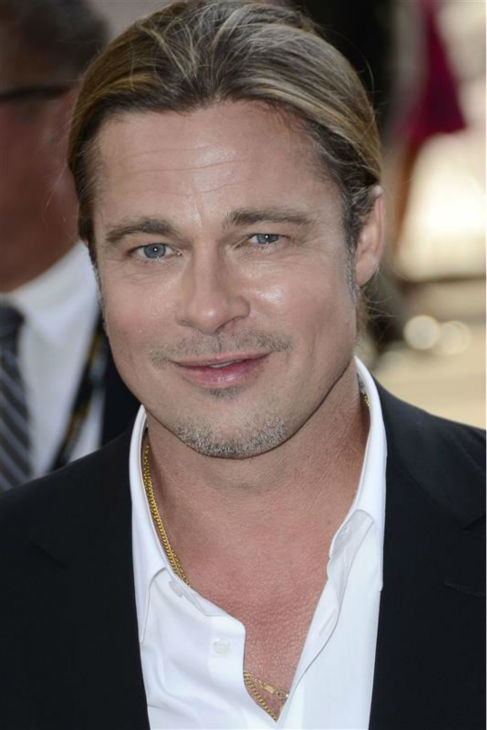 Brad Pitt attends the premiere of '12 Years A Slave' at the 2013 Toronto International Film Festival on Sept. 6, 2013.