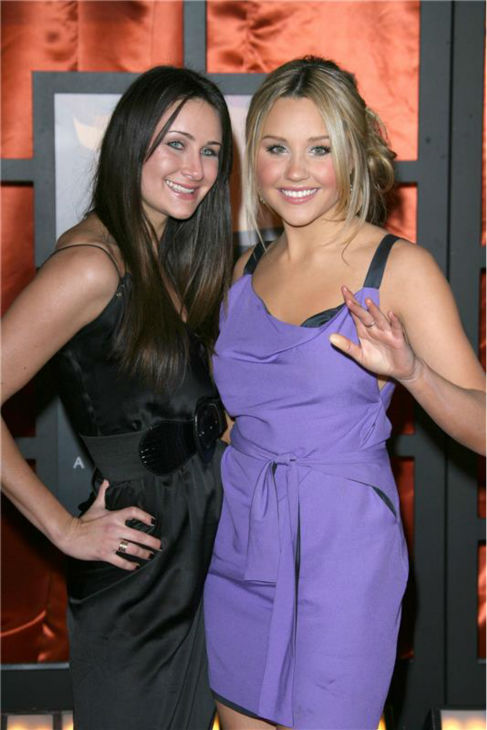 Amanda Bynes attends the 2008 Critics&#39; Choice Awards in Santa Monica, California with her sister, Jillian, on Jan. 7, 2008. <span class=meta>(Jen Lowery &#47; Startraksphoto.com)</span>