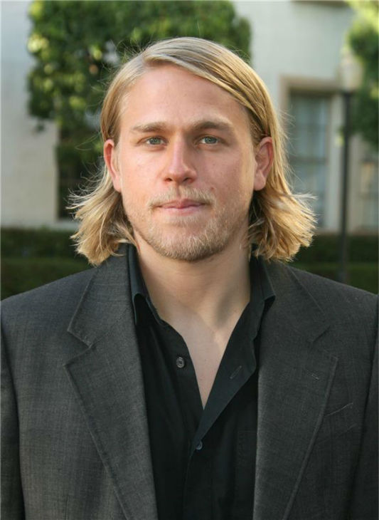 The &#39;Tig-Is-Definitely-Jealous-Of-My-Hair&#39; stare: Charlie Hunnam attends the premiere of the FX series &#39;Sons of Anarchy&#39; at the Paramount Theater in Hollywood, California on Aug. 24, 2008. <span class=meta>(Andy Fossum &#47; Startraksphoto.com)</span>