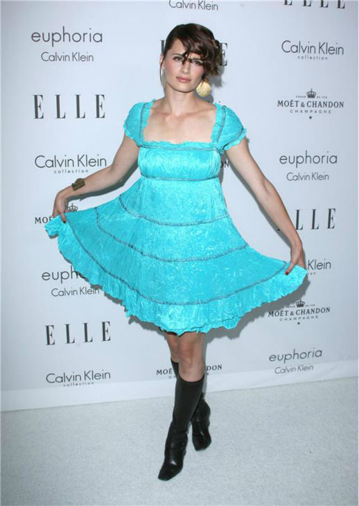 "<div class=""meta ""><span class=""caption-text "">Stana Katic attends Elle magazine's 15th annual Women in Hollywood event in Beverly Hills, California on Oct. 6, 2008. (Jen Lowery / Startraksphoto.com)</span></div>"