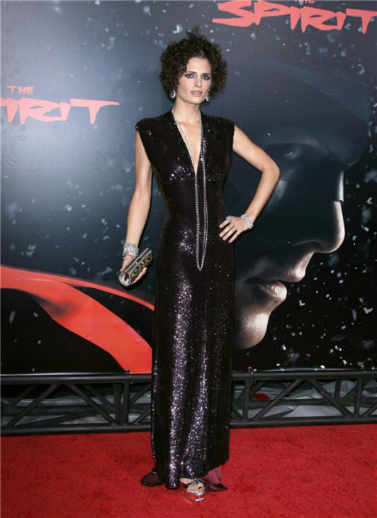 Stana Katic attends the premiere of &#39;The Spirit&#39; in Hollywood, California on Dec. 17, 2008. <span class=meta>(Andy Fossum &#47; Startraksphoto.com)</span>