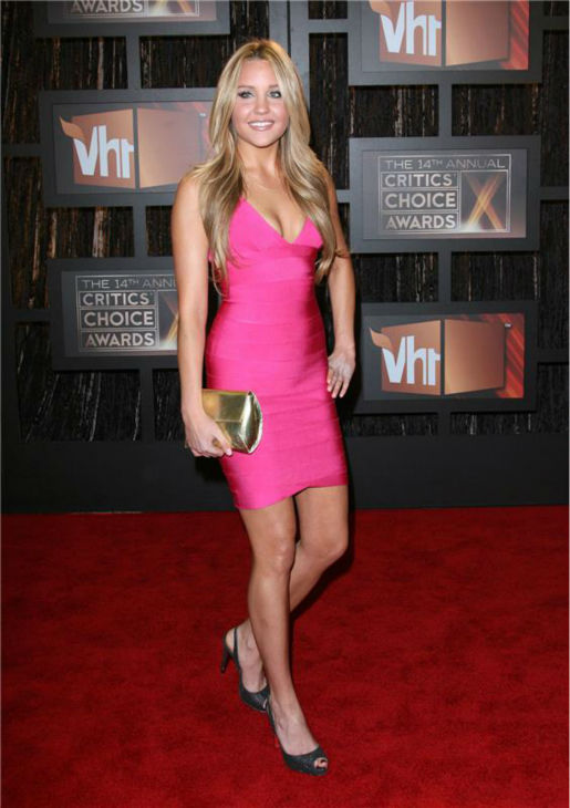 Amanda Bynes attends the 2009 Critics&#39; Choice Awards in Santa Monica, California on Jan. 8, 2009. <span class=meta>(Jen Lowery &#47; Startraksphoto.com)</span>