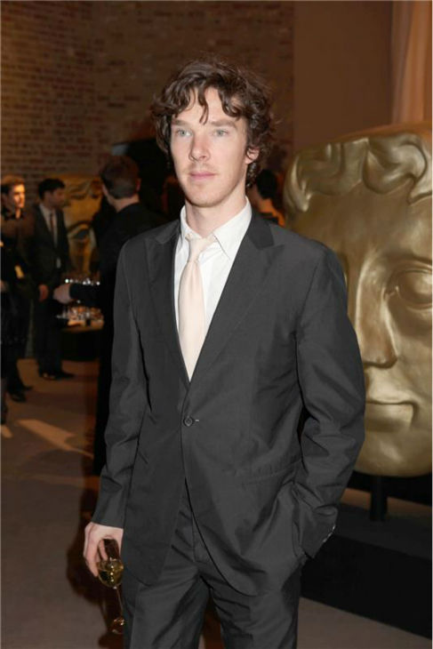 Benedict Cumberbatch appears at a pre-BAFTA party, hosted by Asprey, in London on Feb. 7, 2009. <span class=meta>(Richard Young &#47; Startraksphoto.com)</span>