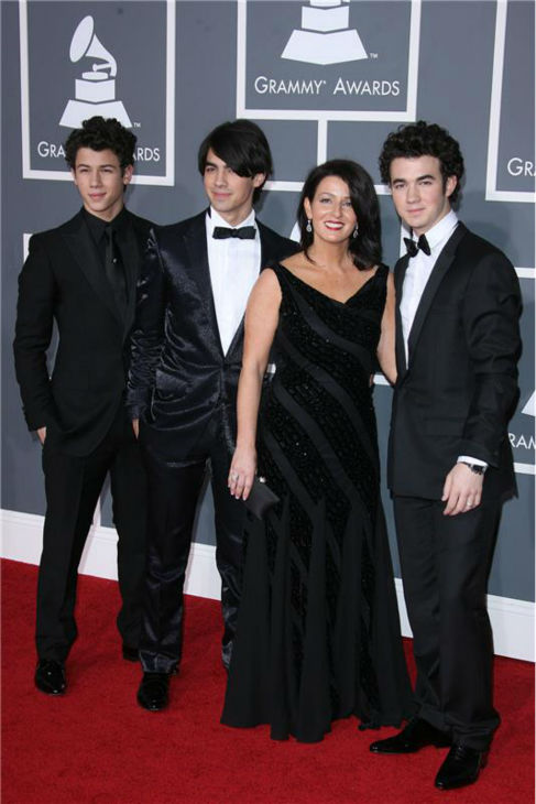 The time the Jonas Brothers brought their mother to the 2009 Grammy Awards in Los Angeles on Feb. 8, 2009. <span class=meta>(Jen Lowery &#47; Startraksphoto.com)</span>