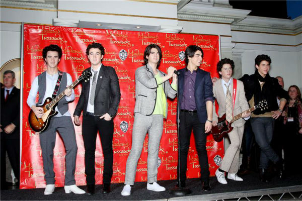 The time there were six Jonas Brothers on one stage -- when the trio posed with their wax figures at Madame Tussauds in New York on Feb. 12, 2009. <span class=meta>(Marion Curtis &#47; Startraksphoto.com)</span>