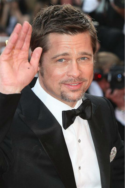 Brad Pitt attends the premiere of &#39;Inglorious Basterds&#39; at the 2009 Cannes Film Festival in Cannes, France on May 20, 2009. <span class=meta>(Brad Pitt attends the premiere of &#39;Inglorious Basterds&#39; at the 2009 Cannes Film Festival in Cannes, France on May 20, 2009.)</span>