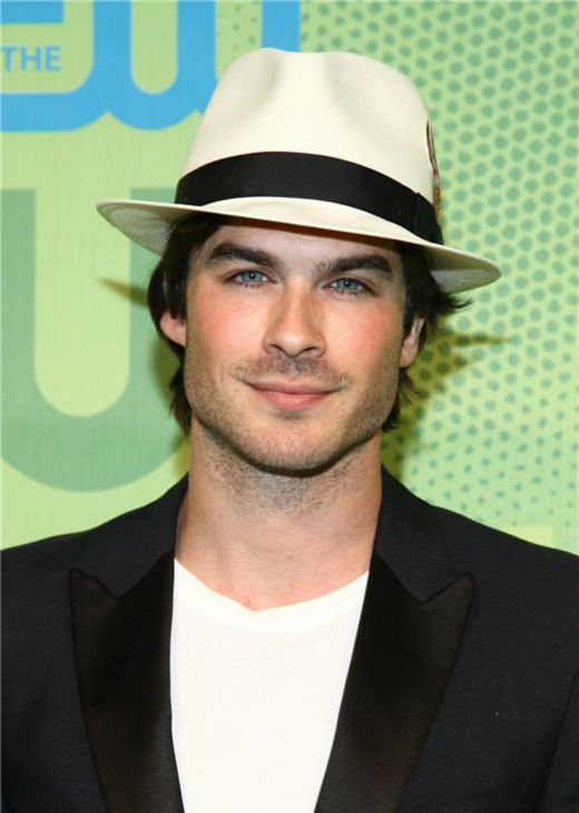 The &#39;Hipster&#39; stare: Ian Somerhalder appears at the CW Network&#39;s Upfront Presentation in New York on May 21, 2009. <span class=meta>(Sara Jaye Weiss &#47; Startraksphoto.com)</span>