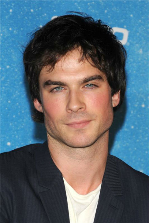 "<div class=""meta ""><span class=""caption-text "">The 'How-Do-I-Look' stare: Ian Somerhalder appears at Spike TV's 2009 SCREAM Awards in Hollywood, California on Oct. 17, 2009. (Sara De Boer / Startraksphoto.com)</span></div>"