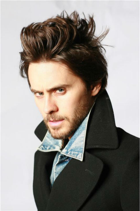 The &#39;Fancy-Headshot&#39; stare: Jared Leto appears in a Thirty Seconds To Mars photo shoot in Paris on Nov. 17, 2009. <span class=meta>(Trip &#47; Dalle &#47; Startraksphoto.com)</span>
