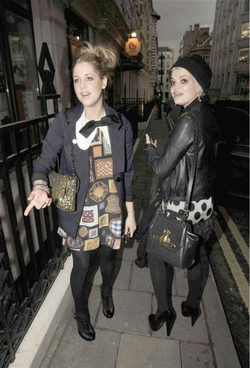 Peaches Geldof and sister Pixie Geldof appear in London on Feb. 24, 2009. Peaches died on April 7, 2014 at age 25. <span class=meta>(Javier Mateo &#47; Startraksphoto.com)</span>