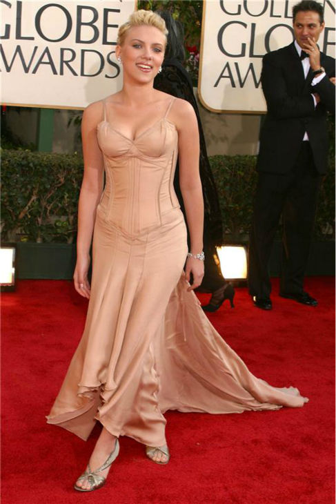 Scarlett Johansson attends the 2004 Golden Globe Awards in Beverly Hills, California on Jan. 25, 2004. <span class=meta>(Startraksphoto.com)</span>