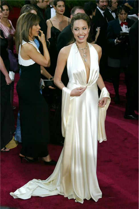 Angelina Jolie appears at the 2004 Golden Globe Awards in Beverly Hills, California on Jan. 25, 2004. <span class=meta>(BO &#47; Statraksphoto.com)</span>