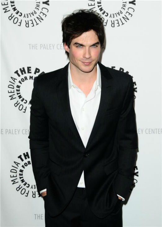 The &#39;Up-To-Something&#39; stare: Ian Somerhalder appears at a PaleyFest event celebrating &#39;The Vampire Diaries&#39; in Los Angeles on March 6, 2010. <span class=meta>(Kyle Rover &#47; Startraksphoto.com)</span>