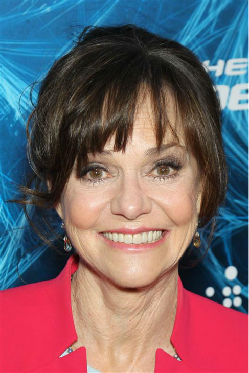Sally Field poses with fans at the premiere of &#39;The Amazing Spider-Man 2&#39; in New York on April 24, 2014. She plays Peter Parker&#39;s Aunt May. <span class=meta>(Marion Curtis &#47; Startraksphoto.com)</span>