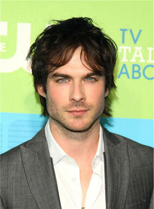 "<div class=""meta ""><span class=""caption-text "">The 'All-Serious-And-Stuff' stare: Ian Somerhalder appears at the CW Network's Upfront Presentation in New York on May 20, 2010. (Sara Jaye Weiss / Startraksphoto.com)</span></div>"
