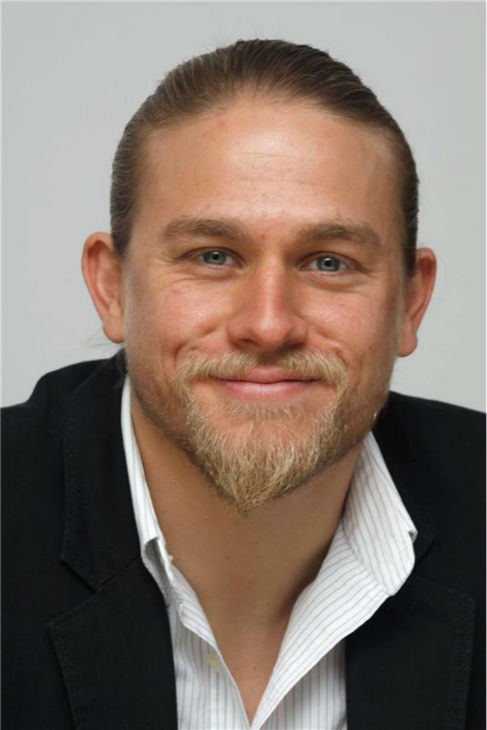 Charlie Hunnam attends a press conference for the FX show 'Sons of Anarchy' at the Four Seasons Hotel in Los Angeles on Oct. 6, 2010.