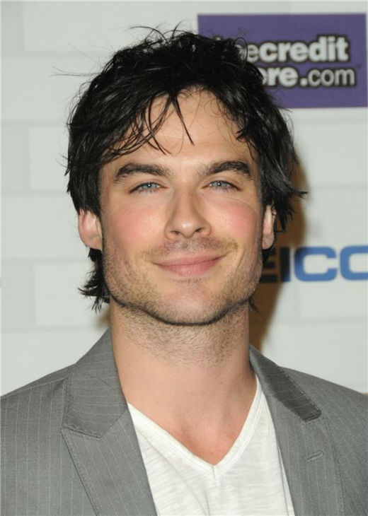 The &#39;Ya-I&#39;m-Staring&#39; stare: Ian Somerhalder appears at the Spike TV&#39;s 2010 SCREAM Awards in Los Angeles on Oct. 16, 2010. <span class=meta>(Sara De Boer &#47; Startraksphoto.com)</span>