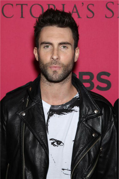 The &#39;Humblebrag-Check-Out-Where-I-Am&#39; stare: Adam Levine attends the 2010 Victoria&#39;s Secret Fashion Show in New York on Nov. 10, 2010. <span class=meta>(Marion Curtis &#47; Startraksphoto.com)</span>