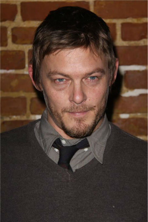 The &#39;Two-Shades-Of-Gray&#39; stare: Norman Reedus attends the premiere of &#39;Meskada&#39; in Hollywood, California on Nov. 30, 2010. <span class=meta>(Tony DiMaio &#47; Startraksphoto.com)</span>