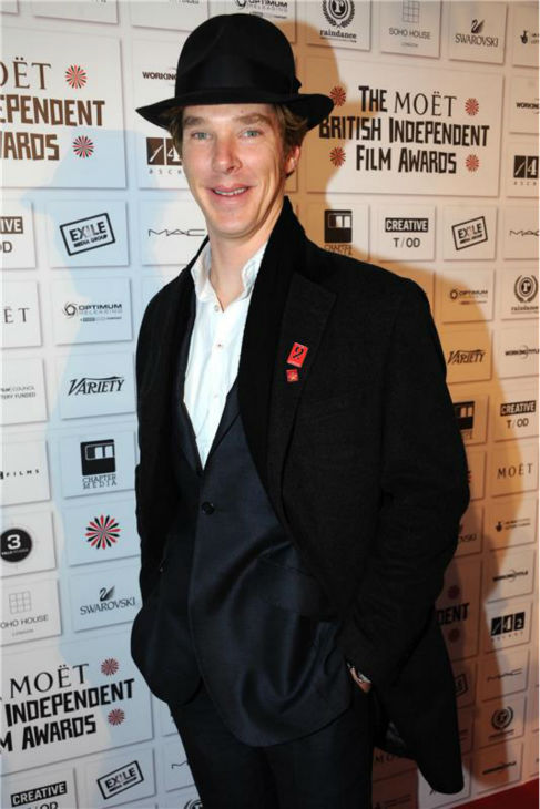 Benedict Cumberbatch appears at the 2010 Moet British Independent Film Awards in London on Dec. 5, 2010. <span class=meta>(Richard Young &#47; Startraksphoto.com)</span>