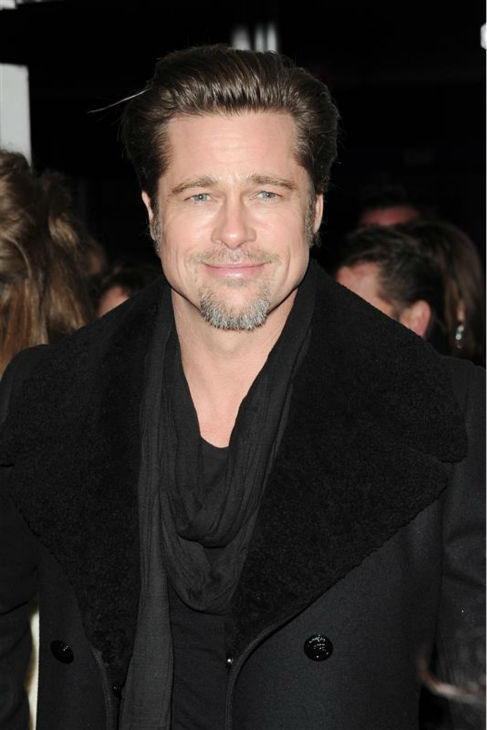 Brad Pitt attends the premiere of partner Angelina Jolie&#39;s movie &#39;The Tourist&#39; in New York on Dec. 6, 2010. <span class=meta>(Bill Davila &#47; Startraksphoto.com)</span>