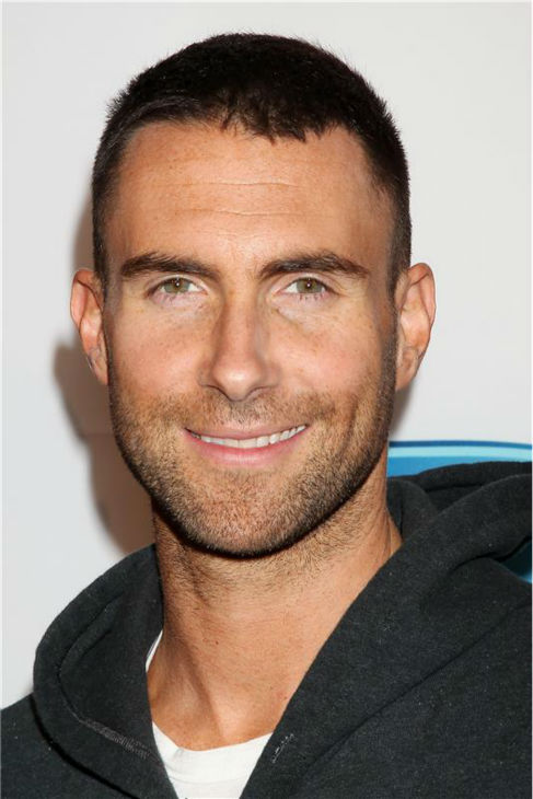 The &#39;The-Hair-It&#39;s-So-Soft&#39; stare: Adam Levine attends DirecTV&#39;s 2011 Celebrity Beach Bowl, presented by Spike, in Dallas, Texas on Feb. 5, 2011. <span class=meta>(Dave Allocca &#47; Startraksphoto.com)</span>