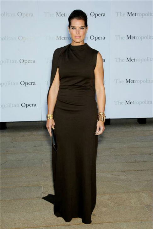 "<div class=""meta image-caption""><div class=""origin-logo origin-image ""><span></span></div><span class=""caption-text"">Brooke Shields attends the New York Metropolitan Opera's season opening performance Of Tchaikovsky's 'Eugene Onegin' on Sept. 23, 2013. (Marion Curtis / Startraksphoto.com)</span></div>"
