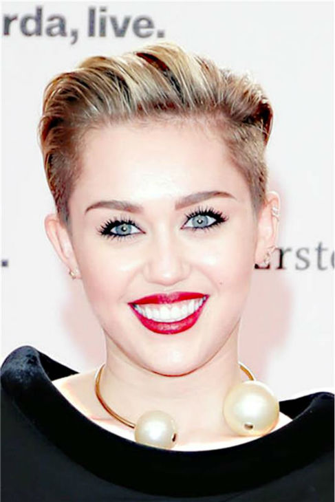 "<div class=""meta image-caption""><div class=""origin-logo origin-image ""><span></span></div><span class=""caption-text"">Miley Cyrus, wearing a vintage Jean Paul Gaultier gown, appears at the 2013 BAMBI German Media Awards at the Stage Theater in Berlin on Nov. 14, 2013. (James Coldrey / Startraksphoto.com)</span></div>"