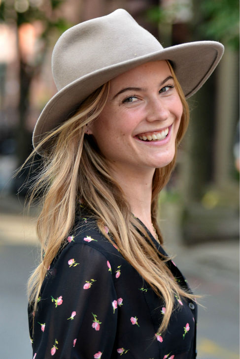 Victoria&#39;s Secret Model Behati Prinsloo is seen ileaving a photo shoot n New York City on May 22, 2013. <span class=meta>(Javier Mateo &#47; startraksphoto.com)</span>