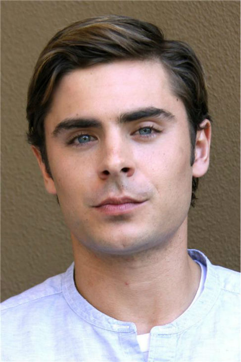 Zac Efron appears at a press conference for the movie 'The Lucky One' in Beverly Hills, California on April 2, 2012.