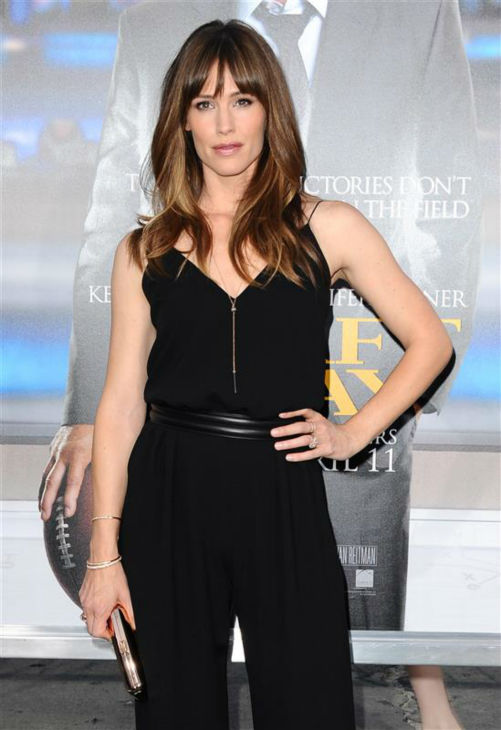 You can watch Jennifer Garner and her perfect hair in &#39;Draft Day,&#39; out in theaters on April 11.  &#40;Pictured: Jennifer Garner appears at the premiere of &#39;Draft Day&#39; in Westwood, near Los Angeles, on April 7, 2014.&#41; <span class=meta>(Sara De Boer &#47; Startraksphoto.com)</span>