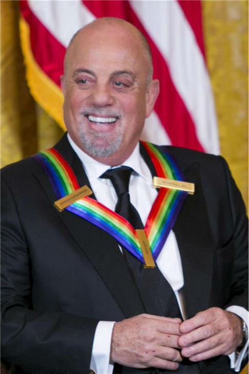 Billy Joel attends a ceremony for the 2013 Kennedy Center honorees in Washington D.C. on Dec. 8, 2013. The singer was one of the five. <span class=meta>(Kristoffer Tripplaar &#47; POOL &#47; Startraksphoto.com)</span>