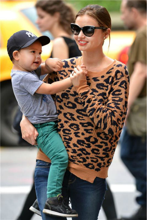 Miranda Kerr&#39;s and Orlando Bloom&#39;s son Flynn are seen in a park in New York on May 30, 2013. <span class=meta>(Javier Mateo &#47; Startraksphoto.com)</span>