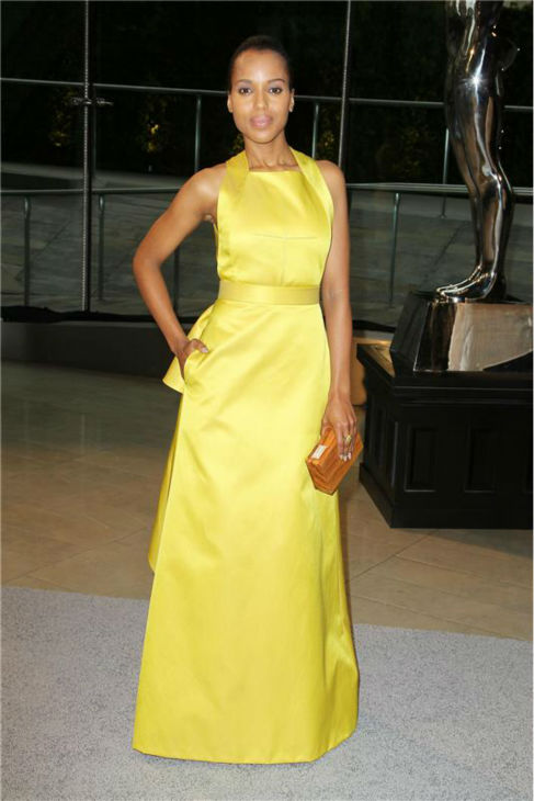 Kerry Washington attends the 2013 CFDA Fashion Awards at Lincoln Center in New York on June 3, 2013. <span class=meta>(Amanda Schwab &#47; Startraksphotos.com)</span>
