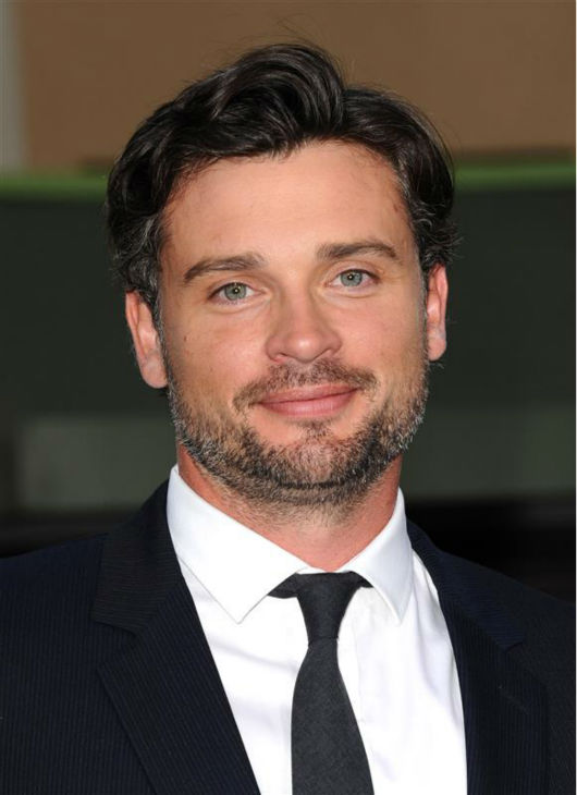 Tom Welling knows Jennifer Garner&#39;s perfect hair has superhuman strength.    &#40;Pictured: Tom Welling appears at the premiere of &#39;Draft Day&#39; in Westwood, near Los Angeles, on April 7, 2014.&#41; <span class=meta>(Sara De Boer &#47; Startraksphoto.com)</span>