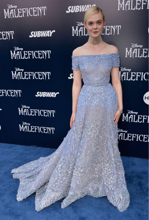 Elle Fanning attends the premiere of Disney&#39;s &#39;Maleficent&#39; in Hollywood, California on May 28, 2014. <span class=meta>(Alberto E. Rodriguez &#47; Getty Images for Disney)</span>