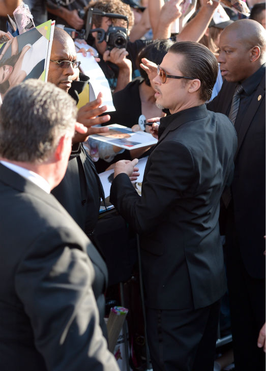 "<div class=""meta image-caption""><div class=""origin-logo origin-image ""><span></span></div><span class=""caption-text"">Brad Pitt appears with fans at the premiere of Disney's 'Maleficent,' which stars his partner, Angelina Jolie, in Hollywood, California on May 28, 2014. (Alberto E. Rodriguez / Getty Images for Disney)</span></div>"