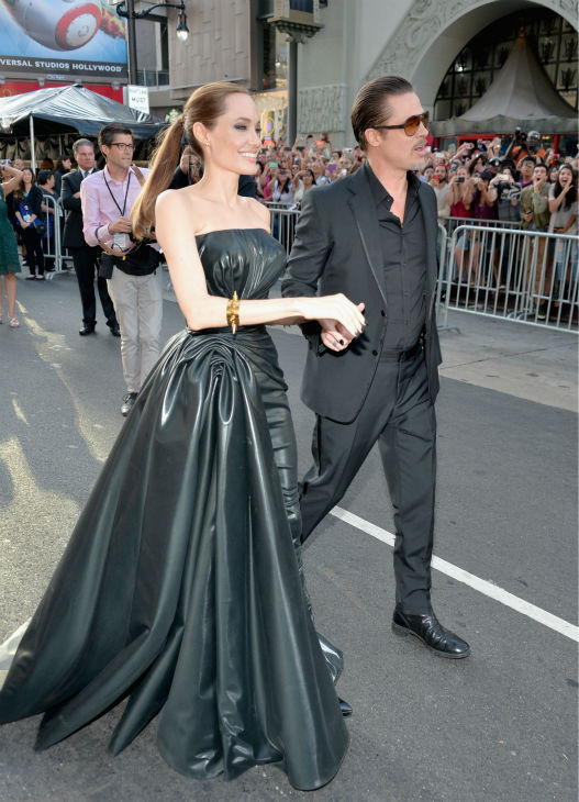 "<div class=""meta image-caption""><div class=""origin-logo origin-image ""><span></span></div><span class=""caption-text"">Angelina Jolie and Brad Pitt attend the premiere of Disney's 'Maleficent' in Hollywood, California on May 28, 2014. (Alberto E. Rodriguez / Getty Images for Disney)</span></div>"