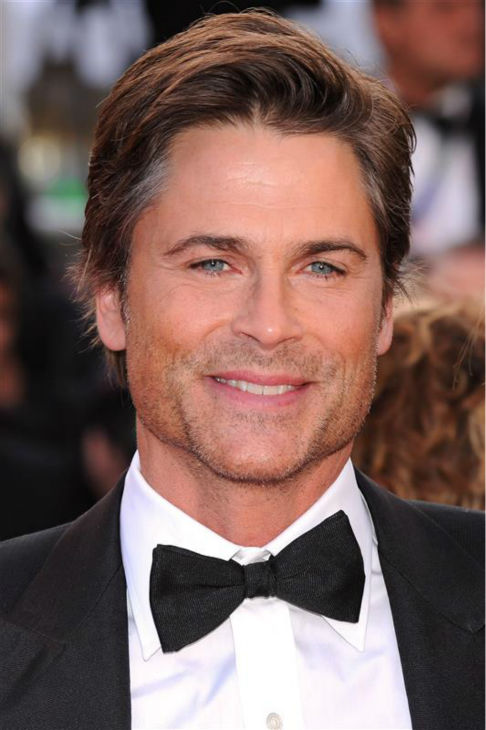 The time Rob Lowe was incredibly good-looking at the premiere of &#39;The Tree of Life,&#39; which stars fellow good-looking actor Brad Pitt, at the 2011 Cannes International Film Festival in Cannes, France on May 6, 2011. <span class=meta>(Nick Sadler &#47; Startraksphoto.com)</span>