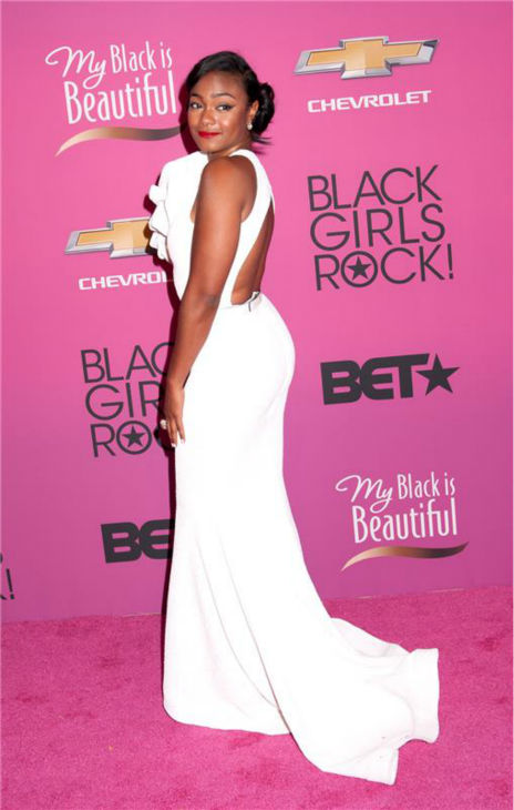 'The Fresh Prince of Bel-Air' alum Tatiana Ali appears at BET's 2013 Black Girls Rock event in New York