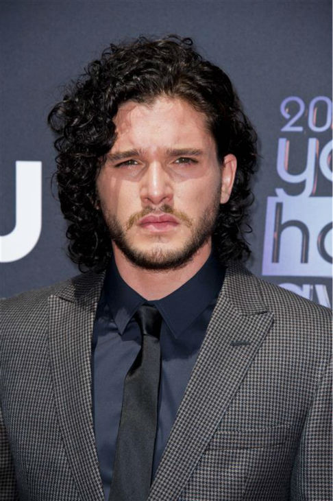 "<div class=""meta ""><span class=""caption-text "">The 'Jon-Snow-Knows-Nothing-At-The-2013-Young-Hollywood-Awards' stare. ('Game of Thrones' star Kit Harington attends the event on Aug. 1, 2013. Watch a VIDEO of OTRC.com's interview with Harington at the event - he talks about his first big break!) (Lionel Hahn / Abacausa / Startraksphoto.com)</span></div>"