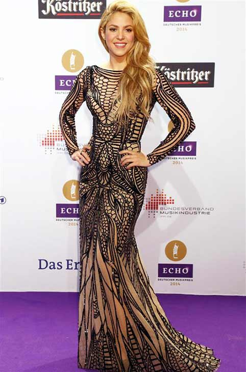 "<div class=""meta image-caption""><div class=""origin-logo origin-image ""><span></span></div><span class=""caption-text"">Shakira appears at the The 2014 Echo Music Awards in Berlin on March 27, 2014. (Sara De Boer / startraksphoto.com)</span></div>"
