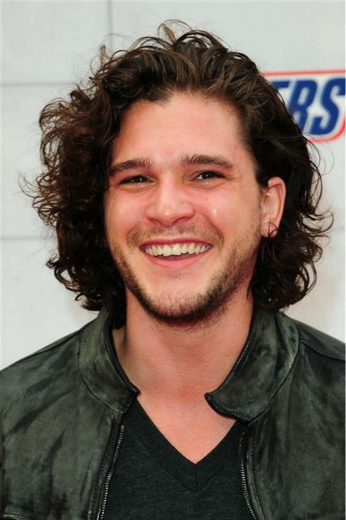 The &#39;Jon-Snow-Breaks-Character-At-The-2012-Spike-TV-Guy&#39;s-Choice-Awards&#39; stare. &#40;Kit Harington appears at the event in Culver City, California on June 2, 2012.&#41; <span class=meta>(Michael Williams &#47; Startraksphoto.com)</span>