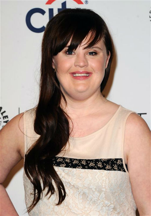 Jamie Brewer appears at a PaleyFest event celebrating the FX series &#39;American Horror Story: Coven,&#39; presented by the Paley Center for Media, at the Dolby Theatre in Hollywood, California on March 28, 2014. <span class=meta>(Sara De Boer &#47; Startraksphoto.com)</span>